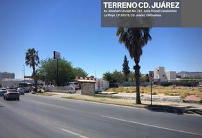 Foto de terreno comercial en venta en abraham lincoln , zona pronaf, juárez, chihuahua, 10029725 No. 01