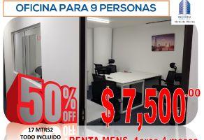 Foto de oficina en renta en Tabacalera, Cuauhtémoc, DF / CDMX, 15955693,  no 01