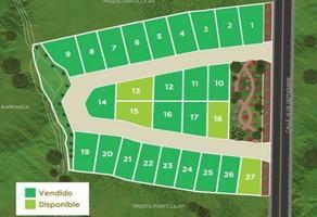 Foto de terreno habitacional en venta en  , acapatzingo, cuernavaca, morelos, 14337091 No. 01