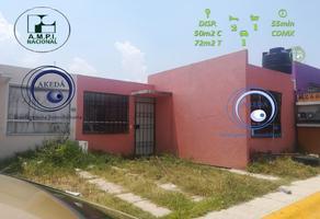 Foto de casa en venta en acceso rápido al centro de tizayuca , tepojaco, tizayuca, hidalgo, 15477587 No. 01