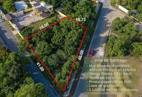 Foto de terreno habitacional en venta en acequia , jardines de santiago, santiago, nuevo león, 17132024 No. 01