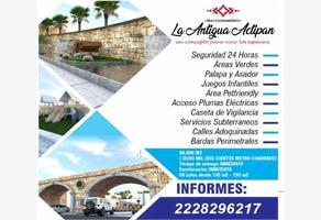 Foto de terreno habitacional en venta en  , actipac, san andrés cholula, puebla, 0 No. 01