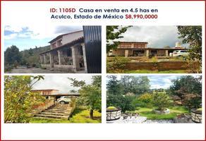 Foto de rancho en venta en aculco , aculco de espinoza, aculco, méxico, 0 No. 01