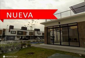 Foto de casa en renta en adagio ii - riscos , zakia, el marqués, querétaro, 0 No. 01
