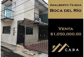Foto de casa en venta en adalberto tejeda , adalberto tejeda, boca del río, veracruz de ignacio de la llave, 0 No. 01