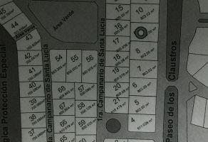 Foto de terreno habitacional en venta en El Campanario, Querétaro, Querétaro, 17237150,  no 01
