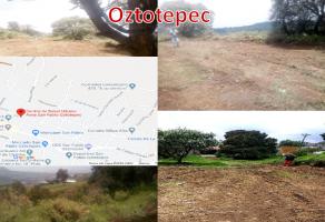 Foto de terreno habitacional en venta en Centro (San Pablo Oztotepec), Milpa Alta, DF / CDMX, 15712069,  no 01