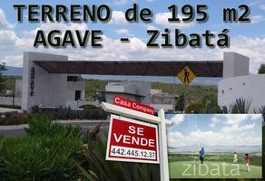 Foto de terreno habitacional en venta en agave , fraccionamiento piamonte, el marqués, querétaro, 18481471 No. 01