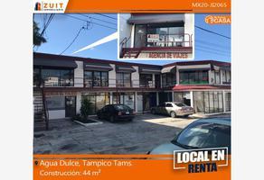 Foto de local en renta en agua dulce 515 local f, la florida, tampico, tamaulipas, 0 No. 01
