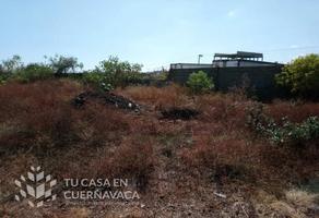 Foto de terreno habitacional en venta en  , ahuatepec, cuernavaca, morelos, 18633089 No. 01