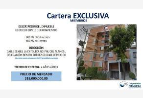 Foto de edificio en venta en  , álamos, benito juárez, df / cdmx, 11117835 No. 01