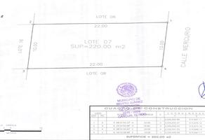 Foto de terreno habitacional en venta en  , álamos i, benito juárez, quintana roo, 17889343 No. 01