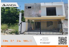 Foto de casa en venta en alfredo cuaron 214, emiliano zapata, ciudad madero, tamaulipas, 0 No. 01