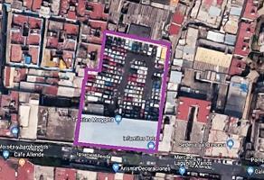 Foto de terreno habitacional en venta en allende 74, centro (área 2), cuauhtémoc, df / cdmx, 0 No. 01