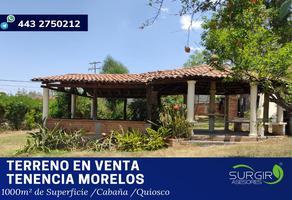 Foto de terreno habitacional en venta en alondra 87, tenencia de morelos, morelia, michoacán de ocampo, 13268345 No. 01