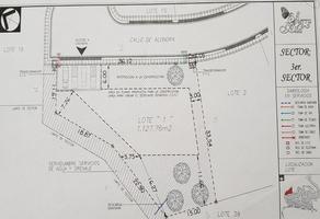 Foto de terreno habitacional en venta en alondra. , rincón de sierra alta, monterrey, nuevo león, 14982375 No. 01