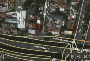 Foto de terreno habitacional en venta en alpes , los alpes, álvaro obregón, df / cdmx, 10233552 No. 01