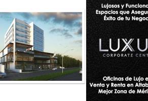Foto de oficina en venta en  , altabrisa, mérida, yucatán, 11564506 No. 01