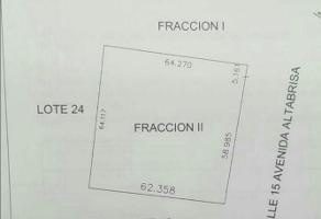 Foto de terreno habitacional en renta en  , altabrisa, mérida, yucatán, 11782759 No. 01