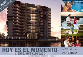 Foto de departamento en venta en alto lago , horizontes, san luis potosí, san luis potosí, 16639767 No. 01