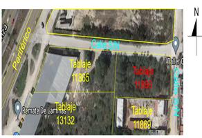 Foto de terreno habitacional en venta en  , ampliación juan pablo ii, mérida, yucatán, 20175210 No. 01