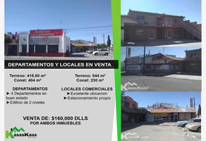 Foto de local en venta en anahuac 608, barreal, juárez, chihuahua, 15862666 No. 01