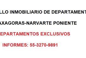 Foto de departamento en venta en anaxagoras 50, narvarte poniente, benito juárez, df / cdmx, 15920622 No. 01