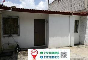 Foto de casa en venta en andador 5 u hab san cristobal 4, modelo, río blanco, veracruz de ignacio de la llave, 0 No. 01