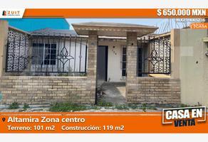 Foto de casa en venta en andador almendro 120, la florida, altamira, tamaulipas, 0 No. 01