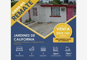 Foto de casa en venta en andador mayapan 229b, jardines de california, coatzacoalcos, veracruz de ignacio de la llave, 0 No. 01
