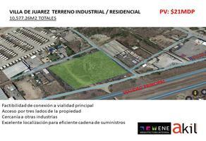 Foto de terreno industrial en venta en anillo periferico 5, juárez, juárez, nuevo león, 17140634 No. 01