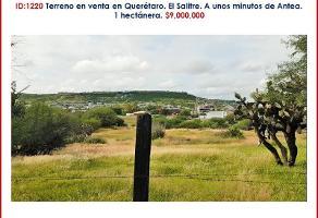 Foto de terreno habitacional en venta en anillo vial fray junípero serra 0, el salitre, querétaro, querétaro, 0 No. 01