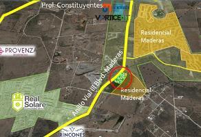 Foto de terreno comercial en venta en anillo vial iii, boulevard maderas , residencial el parque, el marqués, querétaro, 7625972 No. 01