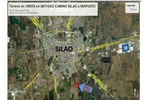 Foto de terreno comercial en venta en antiguo camino a irapuato 100, condado de la pila, silao, guanajuato, 0 No. 01