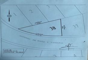 Foto de terreno habitacional en venta en antonio de haro y tamariz 38, lomas verdes 6a sección, naucalpan de juárez, méxico, 0 No. 01