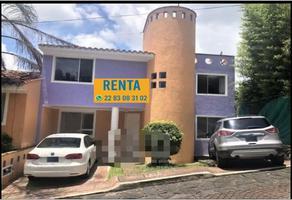Foto de casa en renta en araucarias 00, jardines de las ánimas, xalapa, veracruz de ignacio de la llave, 0 No. 01
