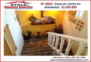 Foto de casa en venta en arboledas 333, arboledas, querétaro, querétaro, 0 No. 01