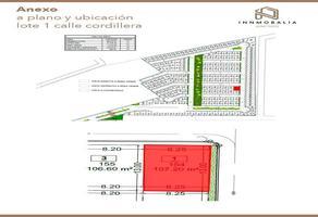 Foto de terreno habitacional en venta en  , arboledas de xilotzingo, puebla, puebla, 16491151 No. 01