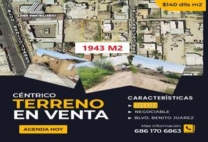 Foto de terreno comercial en venta en arturo bernal , maestros federales, mexicali, baja california, 0 No. 01