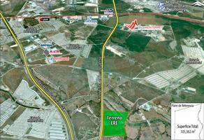 Foto de terreno industrial en venta en autopista de cuota al aeropuerto , monterrey (gral. mariano escobedo), apodaca, nuevo león, 15335234 No. 01