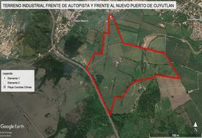 Foto de terreno habitacional en venta en autopista manzanillo-colima s/n , el colomo, manzanillo, colima, 10417886 No. 01