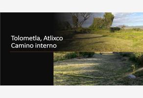 Foto de terreno habitacional en venta en autopista vía atlixcayotl 101, tolometla de benito juárez, atlixco, puebla, 17400901 No. 01