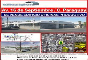 Foto de edificio en venta en avenida 16 de septiembre , partido romero, juárez, chihuahua, 0 No. 01
