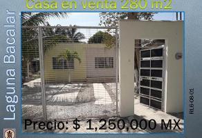 Foto de casa en venta en avenida 21 , bacalar, bacalar, quintana roo, 0 No. 01