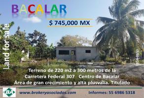 Foto de casa en venta en avenida 27 y calle 18 , diego rojas, bacalar, quintana roo, 0 No. 01