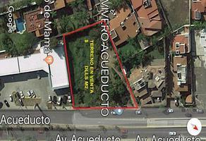 Foto de terreno habitacional en venta en avenida acueducto 2477, colinas de san javier, zapopan, jalisco, 14620168 No. 01