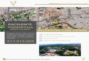 Foto de terreno comercial en venta en avenida aguascalientes , primo verdad, aguascalientes, aguascalientes, 14358316 No. 01