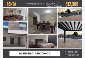 Foto de casa en renta en avenida almería 500, almería, apodaca, nuevo león, 0 No. 01