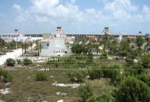 Foto de terreno habitacional en venta en avenida andador del lago , paraíso cancún, benito juárez, quintana roo, 0 No. 01