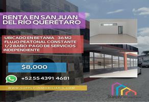 Foto de oficina en renta en avenida benito juárez oriente , betania, san juan del río, querétaro, 0 No. 01
